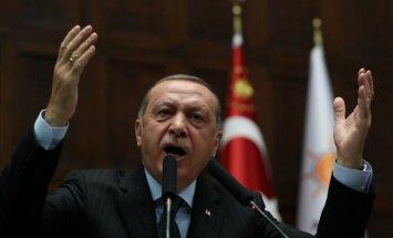 Erdogans kritizē ANO par nepietiekamu reakciju saistībā ar Gazas notikumiem