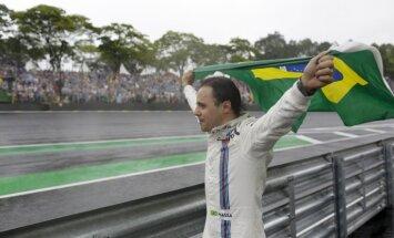 Masa savā pēdējā Brazīlijas 'Grand Prix' posmā nopelna soda punktus un visu komandu ovācijas
