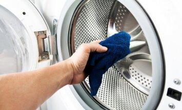 Kā nomazgāt kaļķakmens nogulsnes veļas mašīnai