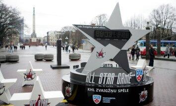 Sestdien Rīgā - ceturtā KHL Zvaigžņu spēle
