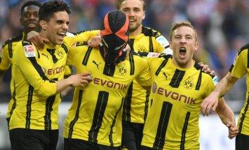 Dortmund gabonese striker Pierre-Emerick Aubameyang