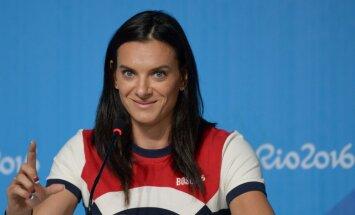 Двукратная олимпийская чемпионка Елена Исинбаева ждет второго ребенка