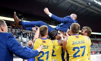 'BK Ventspils' atgūst Latvijas čempiontitulu basketbolā