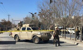 Pašnāvnieku uzbrukumā Kabulas šiītu centram vismaz 40 mirušie