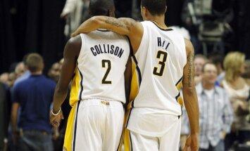'Pacers' iekļūst NBA izslēgšanas spēļu otrajā kārtā.
