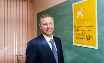 Juris Gulbis iedvesmo skolēnus domāt inovatīvi