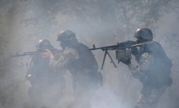 Ukrainas robežsargi Luhanskā atvairījuši vairākus bruņotus uzbrukumus