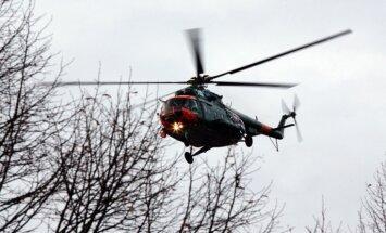 Armijas helikopters no prāmja 'Isabelle' evakuē pasažieri