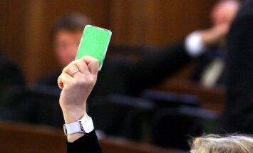 Vējonis nodod Saeimai otrreizējai caurlūkošanai pretrunīgi vērtētos Kredītiestāžu likuma grozījumus