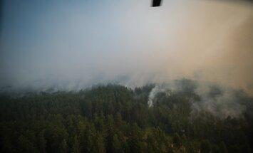 Stiklu ciemā konstatē ļoti lielu gaisa piesārņojumu; citviet situācija atbilstoša