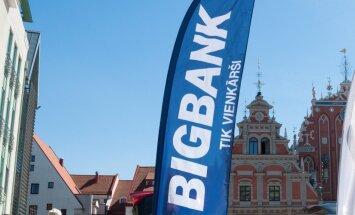 'Bigbank' peļņa pirmajā ceturksnī - 3,2 miljoni