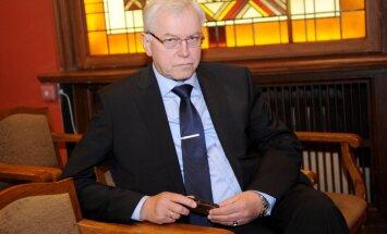 Brigmanis aicina Ventspils domi atlaist Sprūdžu
