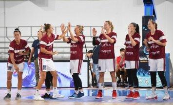 Latvijas basketbolistēm Pasaules kausā svarīgs mačs pret Senegālu