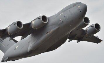 Somijas gaisa telpu pārkāpušas ASV militāras lidmašīnas
