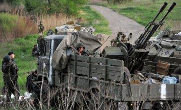 Ukrainas armija sāk uzbrukumu nemiernieku ieņemtajai Doņeckas lidostai
