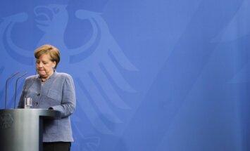 Vācijas sociāldemokrāti atbalstījuši koalīciju ar Merkeles konservatīvajiem