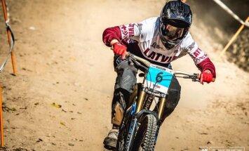 Paula Žibasa iegūst sesto vietu PČ kalnu riteņbraukšanā Austrālijā