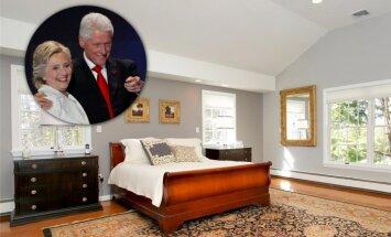 Foto: Ieskats namā, ko par miljonu nopirka Klintoni
