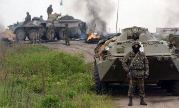 Ukrainas spēki cīnās pret ārvalstu algotņiem, teroristiem un noziedzniekiem, paziņo Turčinovs