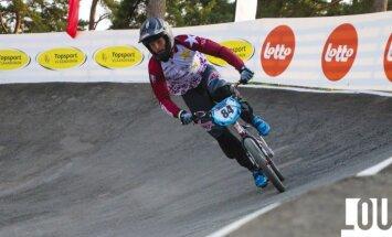 Treimanis un Veide iekļūst Pasaules kausa BMX superkrosā otrā posma pamatsacensībās