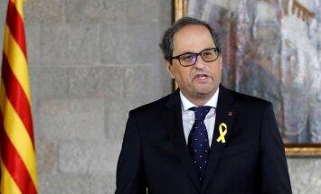 Katalonijas premjerministrs: mēs neatteiksimies no neatkarības