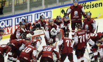 Paziņots Latvijas hokeja izlases spēļu grafiks 2019. gada pasaules čempionātā