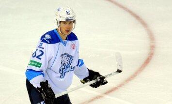 Bārtuļa pārstāvētā 'Baris' komanda KHL spēlē uzvar 'Soči' hokejistus
