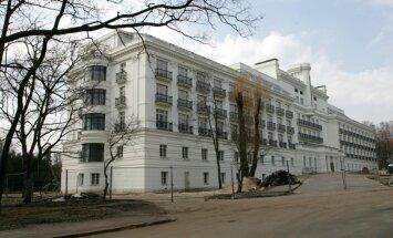 Ķemeru sanatorijas rekonstrukciju cer pabeigt līdz 2017.gadam