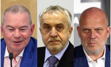 Lembergs, Šķēle un Koziols nākamnedēļ aicināti uz 'oligarhu lietas' izmeklēšanas komisiju