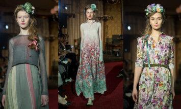 Ar krāšņu Krievijas modes mākslinieka skati atklāta 24. Rīgas modes nedēļa