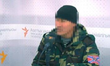 Kirgīzu algotnis vīlies: Donbasā nesastop fašistus, bet gan Krievijas armiju