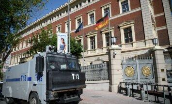 Vācijas policija atbrīvo par uzbrukuma plānošanu aizdomās turētos Kosovas pilsoņus