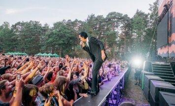 Foto: Nika Keiva un 'The Bad Seeds' koncerts 'Positivus'