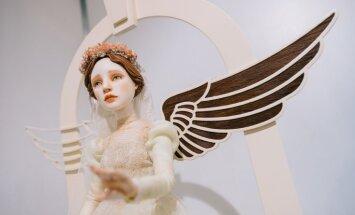 Foto: Porcelāna princeses un pasaku varoņi – neparastā leļļu māksla Dzelzceļa muzejā