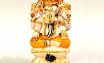 100 dārgumu mākslas muzejā: Ganēša skulptūra
