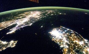 Sagruvis kalns virs Ziemeļkorejas kodolizmēģinājumu poligona