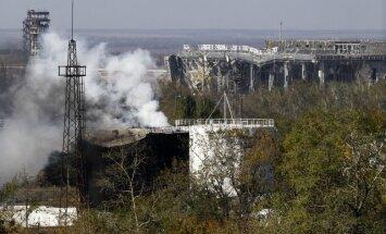 Krievijas specdienesti iesaistīti uzbrukumā Doņeckas lidostai, vēsta Ukraina