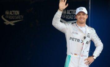Rosbergs uzvar Eiropas 'Grand Prix' kvalifikācijā; Hamiltons paliek desmitais