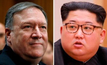 CIP direktors Pompeo slepenā vizītē Ziemeļkorejā ticies ar Kimu Čenunu
