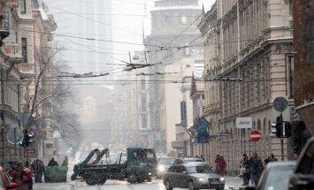 Latvijā piektdien reģistrētas 174 avārijas