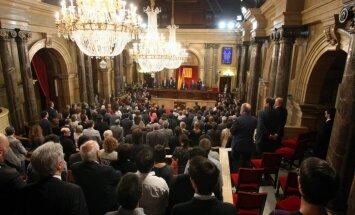 Katalonijas valdība aptur informatīvo kampaņu par neatkarības referendumu
