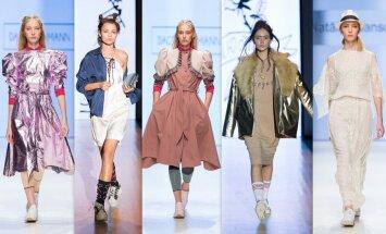 Rīgas modes nedēļas piektā diena: 'Dace Bahmann', 'QooQoo' un Natālijas Jansones darinājumi