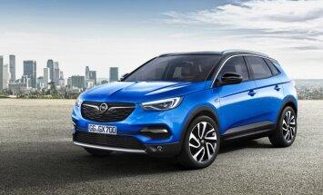 'Opel' parādījis savu jaunāko apvidnieku 'Grandland X'