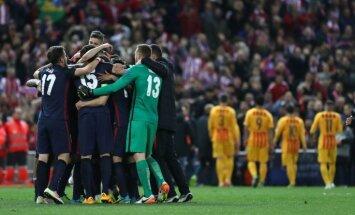 'Atletico' izslēdz diženo 'Barcelona' no Čempionu līgas