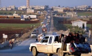 Krievijas gaisa uzlidojumos Sīrijā gājuši bojā 22 civiliedzīvotāji