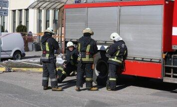 На учениях в Риге пожарные отработают спасение жильцов обрушившегося дома