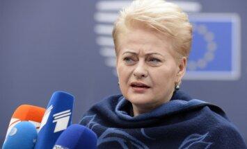 Грибаускайте: батальон НАТО отпугнет агрессивных соседей Литвы