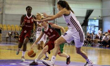 Latvijas basketbolistes Eiropas čempionāta atlasi sāk ar uzvaru pār Portugāli