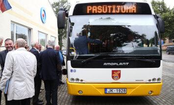Iepirkumā par Jelgavas autobusu mazgāšanu uzvar jaundibināta firma ar eiro pamatkapitālu