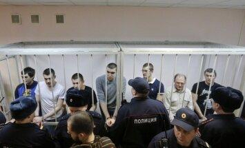Maskavas tiesa 'Bolotnaja lietā' apsūdzētajiem piespriež līdz četriem gadiem cietumā